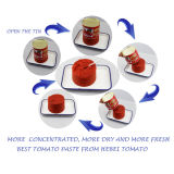 Puré saudável fresco pasta de tomate 2.2kg enlatada