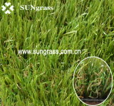 30mm Romantic Landscape/giardino Artificial Grass (QDS-30-6S)