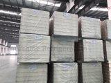OIN, GV a reconnu le panneau en aluminium de 75mm Emboseed Pur Sandwish (type de Pluging aucun crochet) pour le congélateur de chambre froide de pièce fraîche