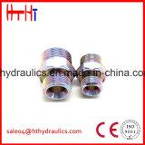 macho 1c9/1d9-Rnw métrico 24 adaptadores do aço inoxidável do cotovelo do cone 90 do grau da fábrica da alta qualidade