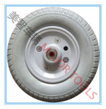 편평한 자유로운 타이어 단단한 PU 거품고무 바퀴 2.50-4 PU 거품 바퀴