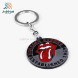 Oggetto d'antiquariato su ordinazione di promozione lo smalto Keychain della linguetta rossa di Rolling Stones