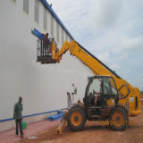 ナイジェリアの構造スチールの木造家屋