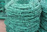 Колючая проволока PVC дешевого цены Coated для обеспеченности