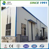 Vorfabriziertes Stahlkonstruktion-Lager-Werkstatt-Gebäude Manufacuture
