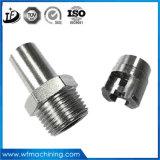 비 철 금속에서 기계로 가공을 가공하는 주문 고급장교 또는 스테인리스 정밀도 CNC 선반 금속