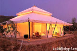 De eco-Pagode van Dobule Tent voor Toevlucht en Glamping