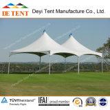 Anti-Fire Conical Tents im Garten