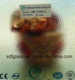 세륨, ISO (3-8mm)를 가진 Nashiji 명확한 장식무늬가 든 유리 제품
