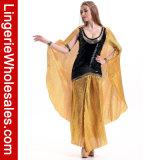 Königin-Kostüm der Halloween-Partei-Abendkleid-Frauen ägyptisches der Blendung-Cleo