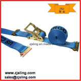 "E-Track Ratchet Strap W / Double-Fitted End 2 ""X 20 'Blue"