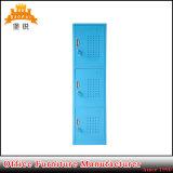 Casiers d'acier de casier de vêtement d'élève d'école en métal de porte de la structure 3 de Kd