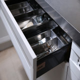 Кухонные шкафы кухни трасучки твердой древесины Welbom классицистические