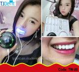 Dientes dentales seguros eficientes convenientes del uso casero mini LED que blanquean la unidad (TW-88)