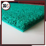 esteira da bobina do PVC do revestimento protetor da espuma da cor verde de 12mm