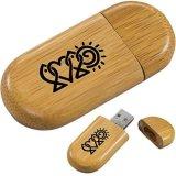 Mecanismo impulsor de madera del flash del USB (HGD-U042)