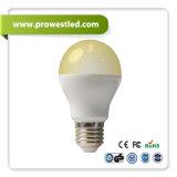 6W Aluminum Wrapped da Plastic RGBW Controlling LED Bulb