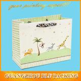 Sacos de compra de papel luxuosos (BLF-PB127)