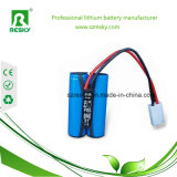 Navulbare Battery 7.4V 2600mAh voor LED Bike Headlamp Light