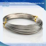 Acoplamiento de la cerca de la cuerda de alambre de acero inoxidable