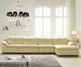 現代ホーム家具、L形の革ソファー(B. 889)