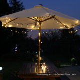 der Weihnachten2016 100LED buntes Solar-LED Zeichenkette-Licht Lampen-Dekoration-