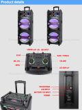 Диктор Bluetooth вагонетки перезаряжаемые с светом СИД