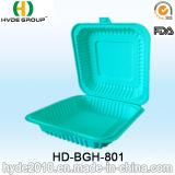 1000ml Colorful Biodegradable Disposable Lunch Box com Corn Starch