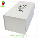 Оптовая коробка подарка упаковки ботинка белой бумаги