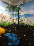 EN1176 Zona de Juegos de Plástico Popular en Europa al Aire Libre