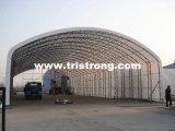 Планы здания фабрики, здание стальной структуры, полуфабрикат здание (TSU-4966/TSU-49115)