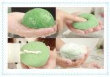 Éponge konjac normale de nettoyage faciale de l'éponge 100%