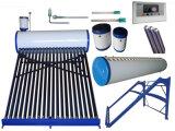 Calefator de água quente da energia solar de baixa pressão/calefator de água solar solar do coletor do geyser do sistema de aquecimento com tanque de Assistan/tanque de alimentação