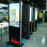 55inch Hotel 각자 Standing Digital Advertizing Screen