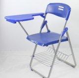 執筆タブレットが付いている黒いカラー調査の椅子