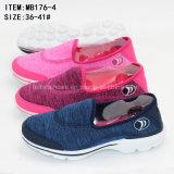 Наиболее поздно ботинки спортов дешево холодного Slip-on цемента вскользь для женщин (MB176-4)