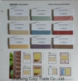 Translúcido, apagón 50% -100% cortinas de nido de abeja a prueba de sol Tela de persiana enrollable para sala de estar, oficina