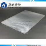 El panel claro protegido ULTRAVIOLETA de la depresión del policarbonato con 10 años de garantía