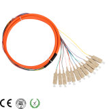Fabriqué en Chine Manufactory Sc / Optic Pigtail 9 / 125um Sc Optical Fiber Pigtails