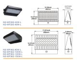 O UL Dlc alistou o bloco ao ar livre Ligthing da parede do diodo emissor de luz 120W