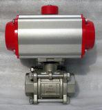 API/ANSI 1PC 스레드 또는 용접된 뜨 탄소 강철 공 벨브