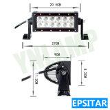 ジープSUVのための10.6inch 36W Epistar IP67 LEDのライトバー