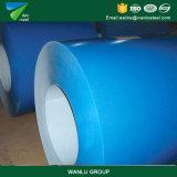 塗られたカラーの製造所はGalvalumeの鋼鉄コイルのロールスロイス電流を通されたシートPPGI PPGLをPrepainted