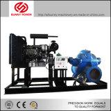 14inch de diesel Pomp van het Water voor Vloed Draing die in Thailand met Aanhangwagen wordt toegepast