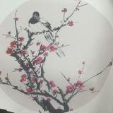 Кожа PVC популярной картины печати поддельный для драпирования, сумок, обоев