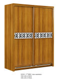 De houten Matte Garderobe van de Kleur in het Meubilair van de Slaapkamer (9Y001-16)