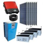 10kw autoguident le système d'alimentation solaire d'énergie renouvelable
