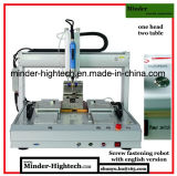 Versão inglesa completa Robot de fixação de parafusos CNC MD-Dl-T3311