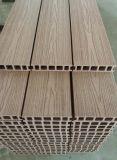 Madeira impermeável de WPC, madeira serrada composta, painel de WPC