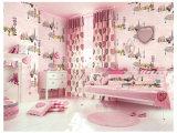 洗濯できるPVCが付いている子供の寝室の装飾の壁ペーパー壁紙